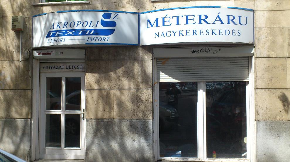 2da8628495d6 Akropolisz Textil Kft. - Méteráru - Budapest
